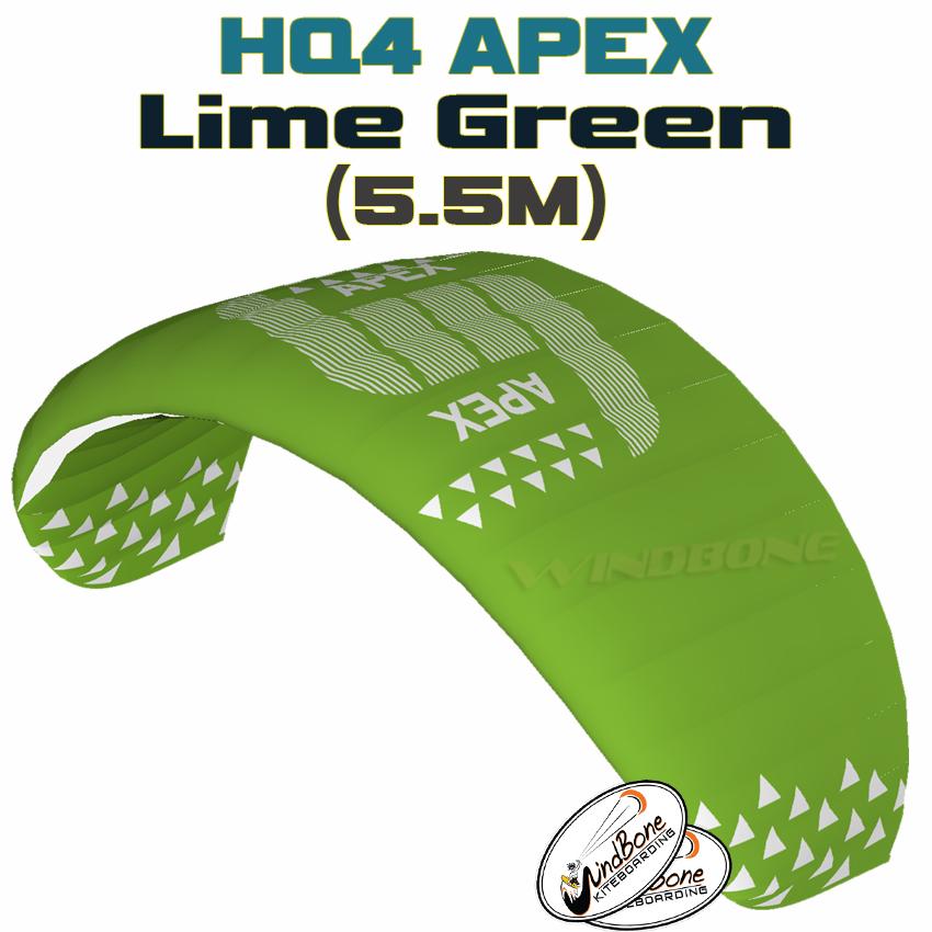 HQ4 Apex 5.5M Lime Green